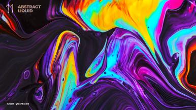 Colorful Liquid 01