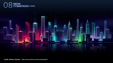Neon Cybertron 06